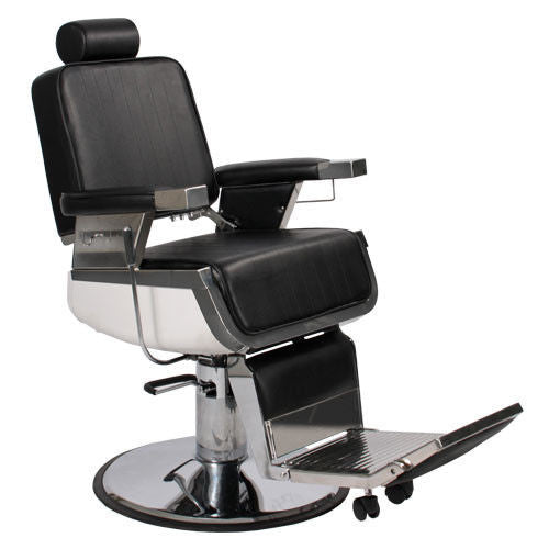 Stainless Super Duty Barber Chair , Barber Chairs - Massage Tables For Less, The Salon Product Store  - 1