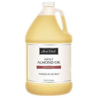 Bon Vital Sweet Almond Oil - 1 Gallon Default Title, Oils/Lotion - Bon Vital, The Salon Product Store