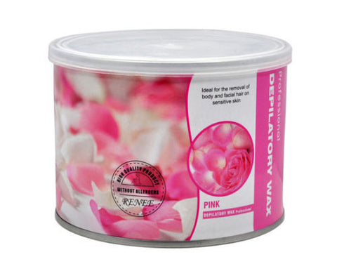Depilatory Wax 14 oz Pink, Waxing Supplies - The Salon Product Store, The Salon Product Store  - 1