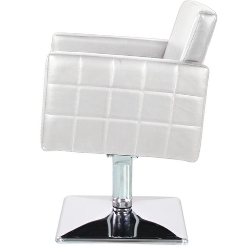 White Square Chair The Salon Product Store
