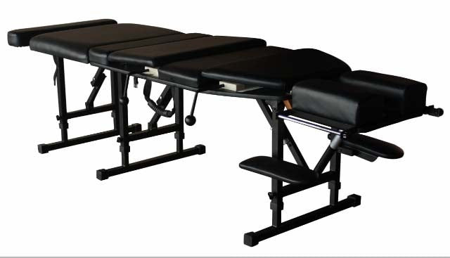 Portable Chiropractic Drop Table Top View