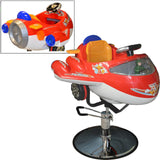 Child Interactive Airplane Barber Chair