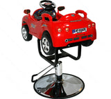 INTERACTIVE SPORTS CAR BARBER CHAIR