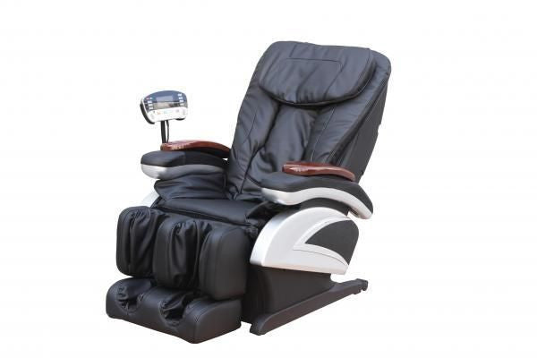 Shiatsu Massage Chair Recliner w/Heat Stretched Foot Rest Black, Shiatsu Massage Chairs - Best Massage, The Salon Product Store  - 1