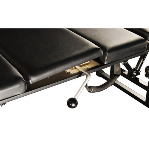 The sheffield elite portable folding chiropractor table for Table salon retractable
