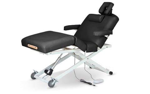 The UltraFlex PowerLift Black, Stationary/Electric Massage Table - The Salon Product Store, The Salon Product Store  - 1