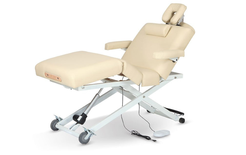 The UltraFlex PowerLift Cream, Stationary/Electric Massage Table - The Salon Product Store, The Salon Product Store  - 2