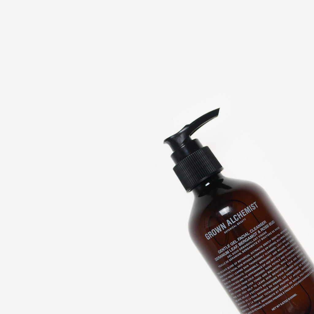 Grown Alchemist Gentle Gel Facial Cleanser Geranium Leaf, Bergamot & Rosebud