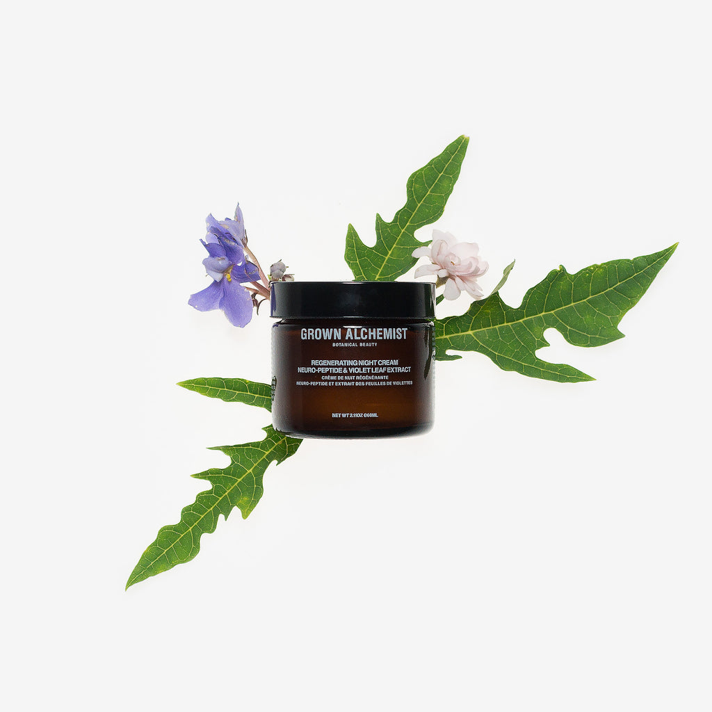 Grown Alchemist Regenerating Night Cream Neuro-Peptide & Violet Leaf Extract