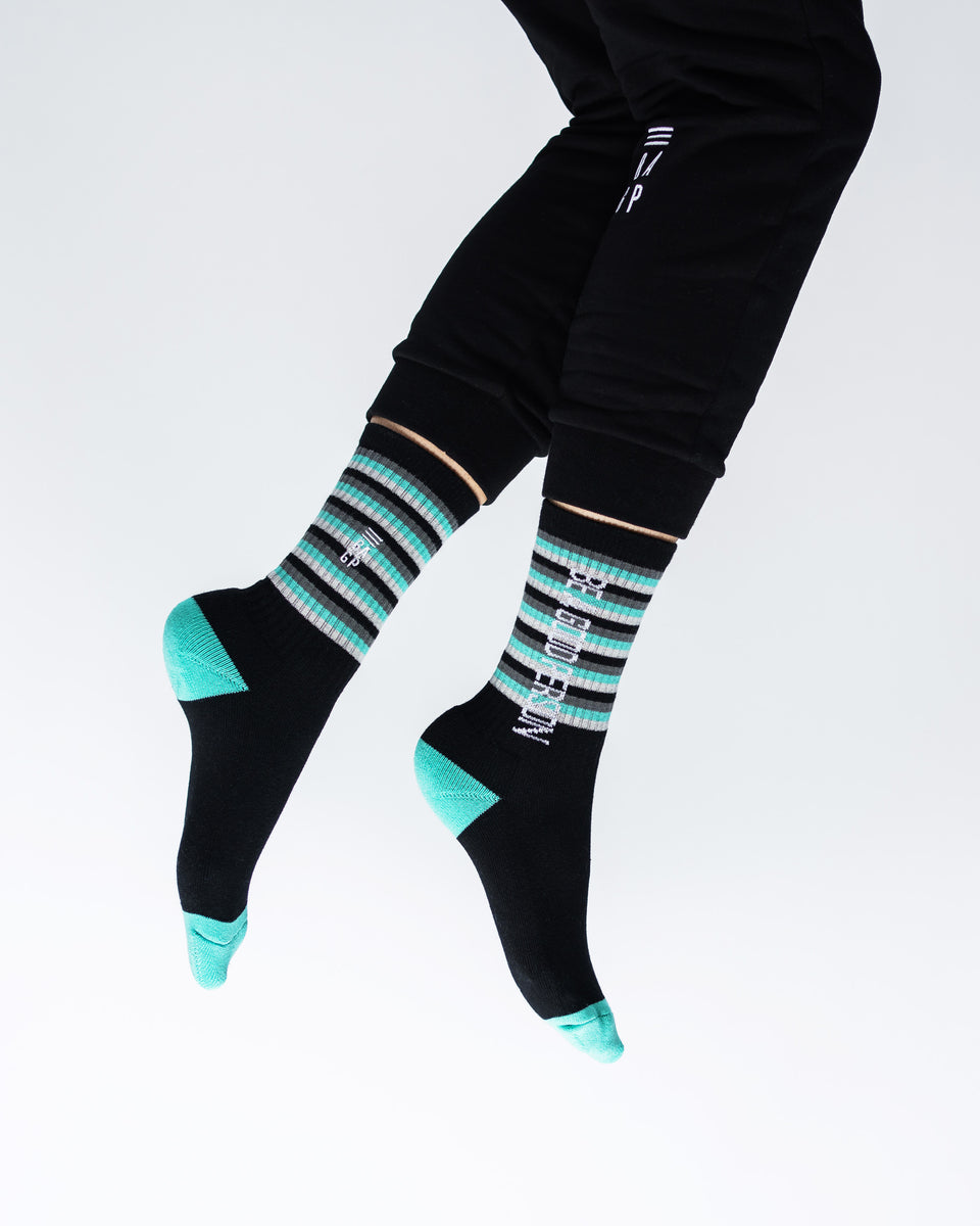 Spring Striped Socks