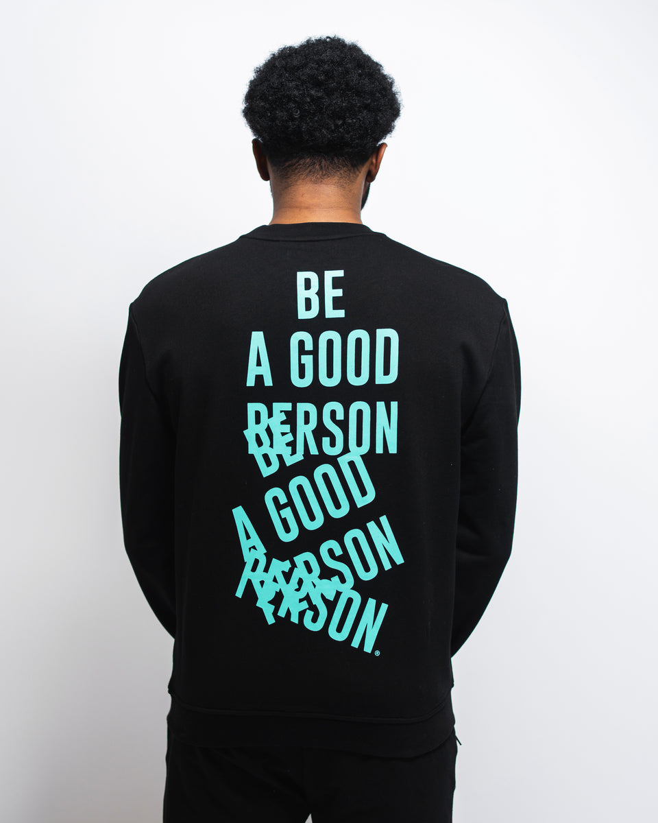 Black 'Happy Accident' Sweatshirt - Unisex