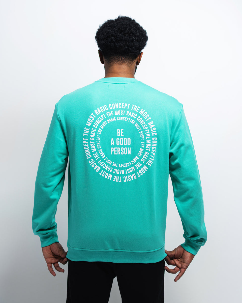 Cool Mint 'Spiral' Sweatshirt - Unisex