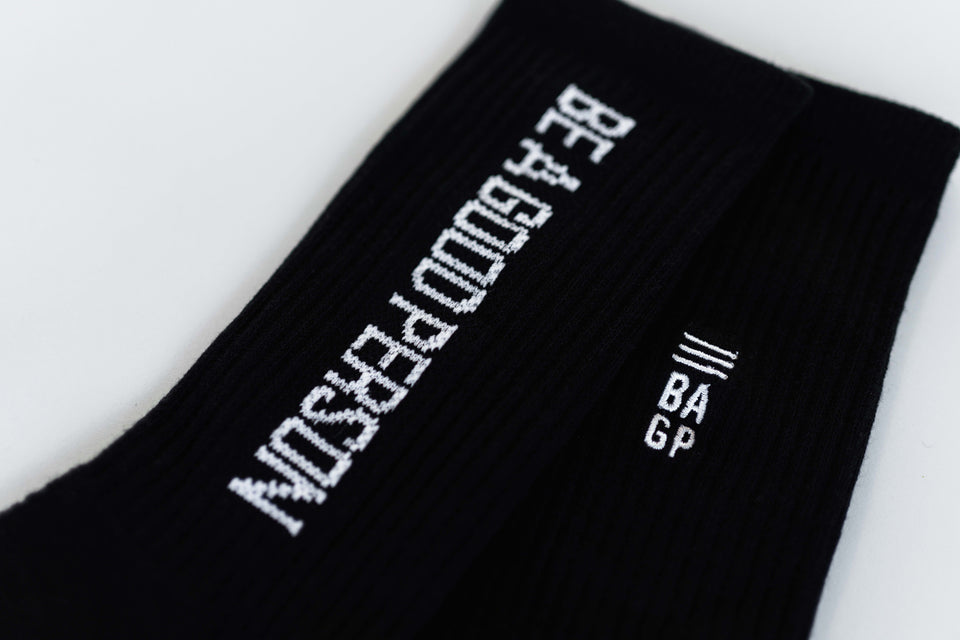Black Signature Socks