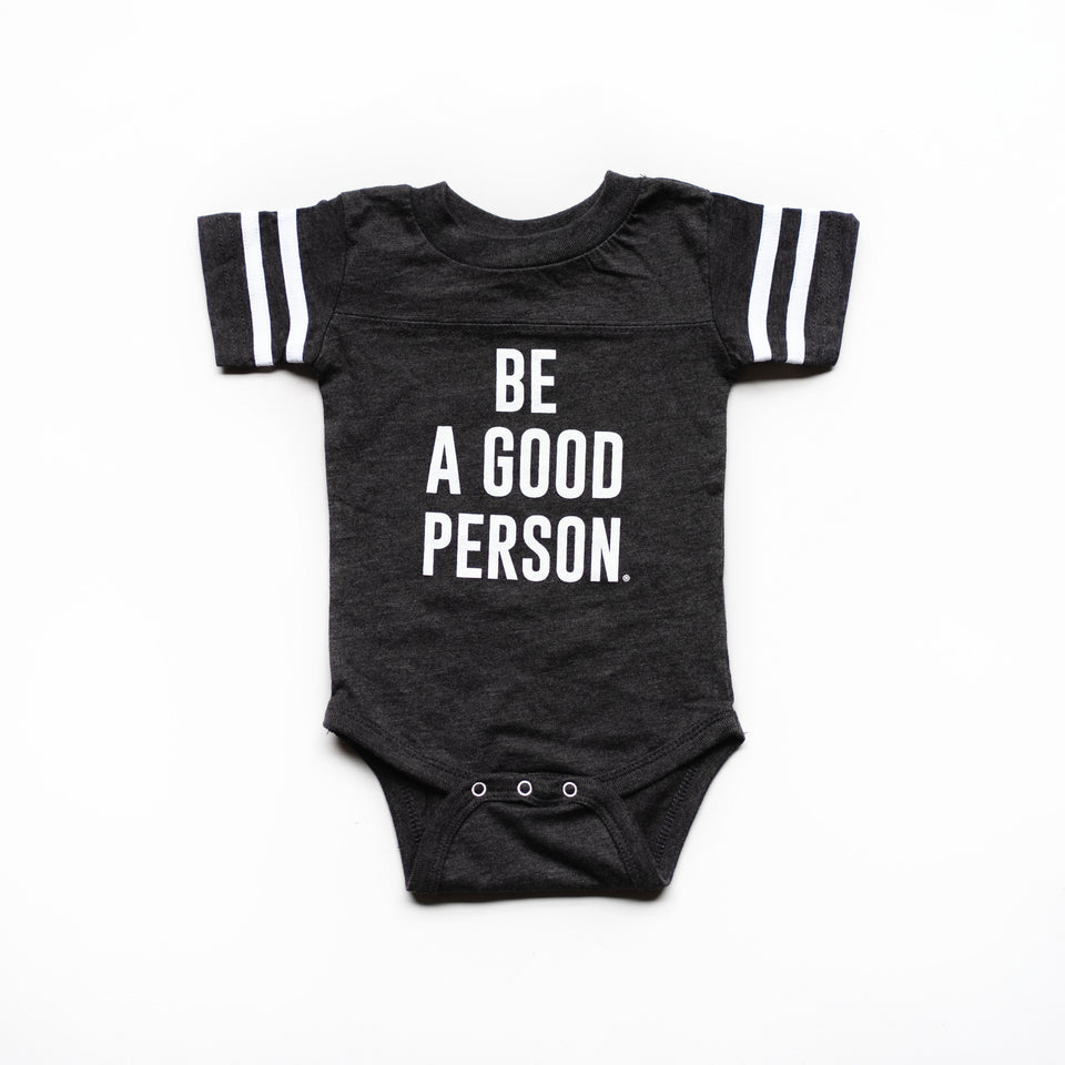 Dark Grey Baby Onesie