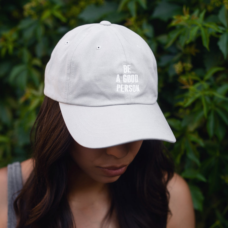 Light Grey Dad Hat