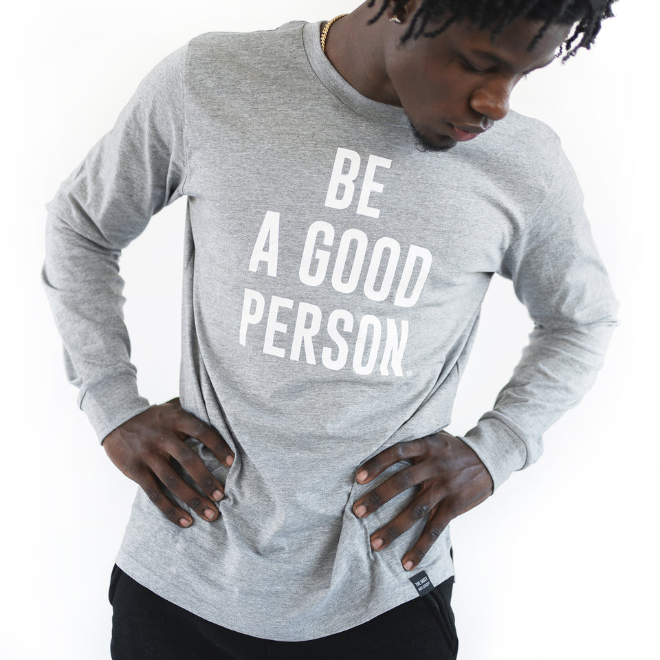 Athletic Grey Long Sleeve Shirt - Unisex