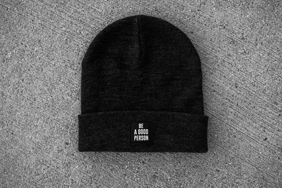 Signature Charcoal Beanie
