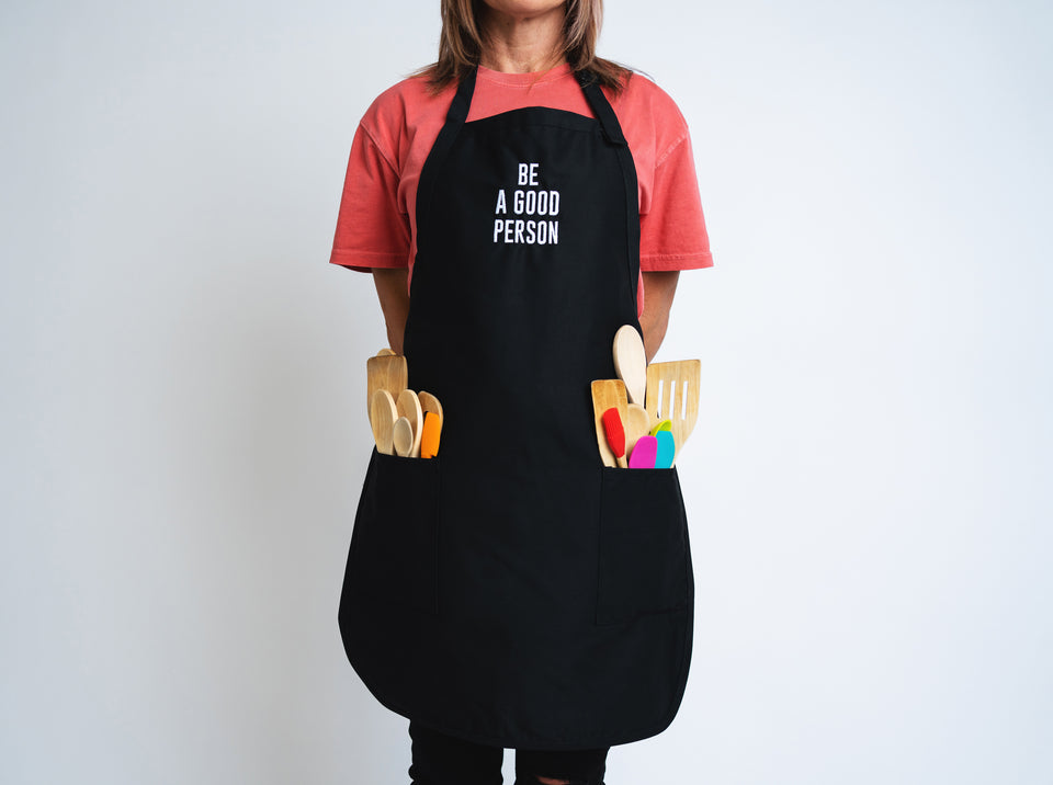 Signature Black Apron