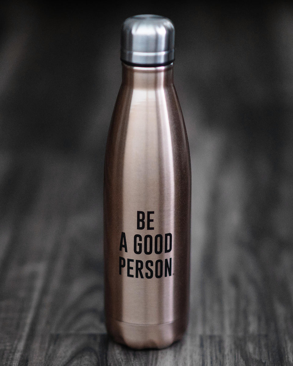 Gold Insulated Water Bottle