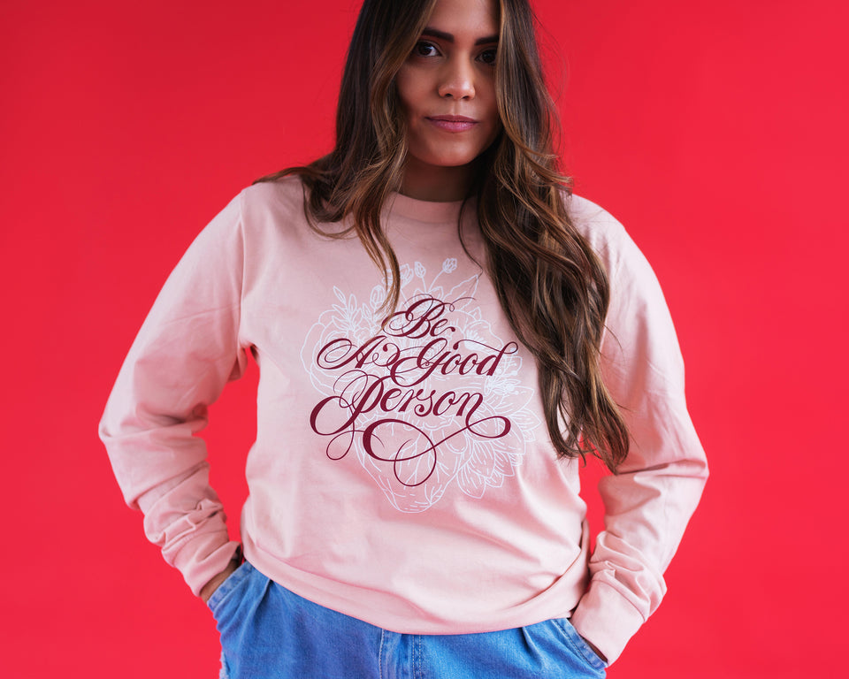 """Valentine's with Friends"" feat. Alyssa Mora Long Sleeve Shirt - Unisex"