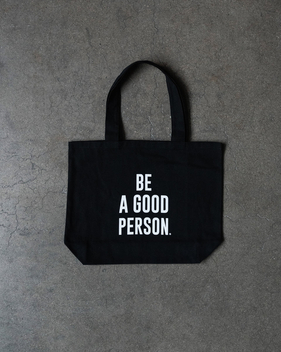 Signature Canvas Tote Bag (Black)