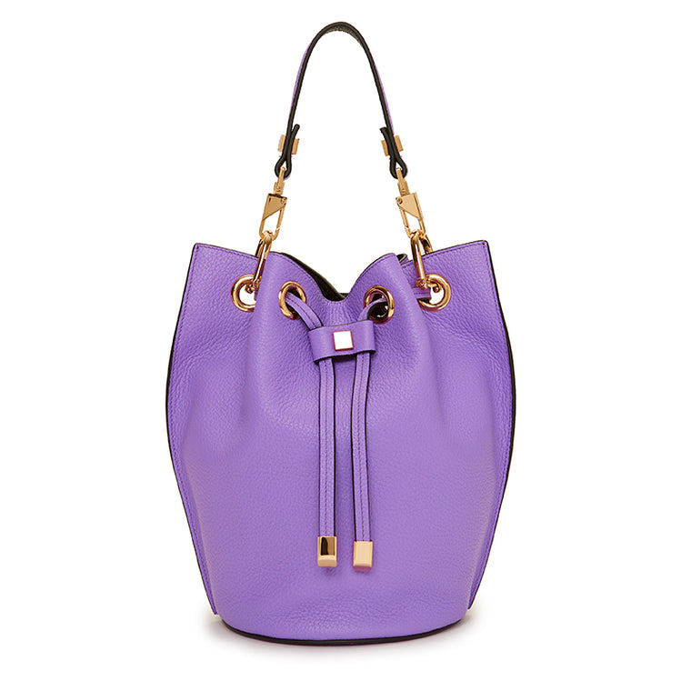 Carla Mini Bucket Violet/Ebony