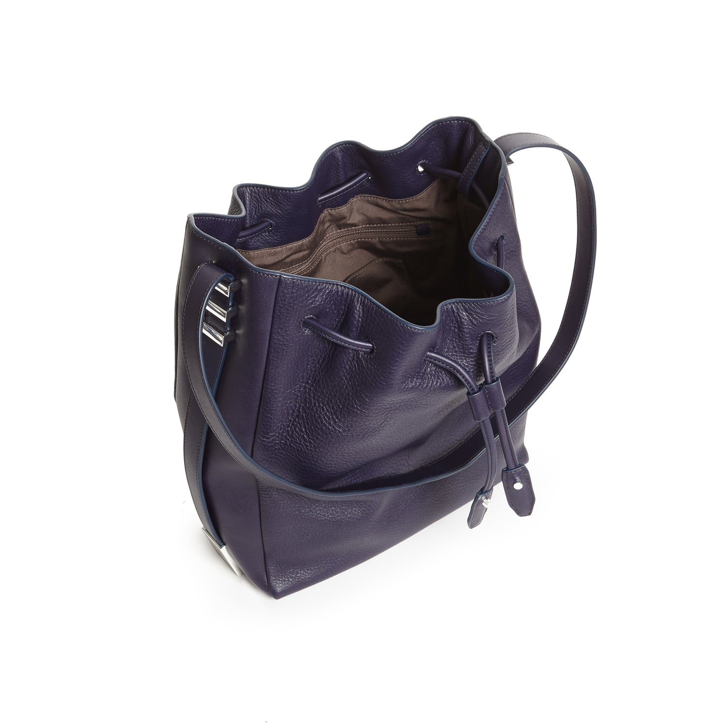 CECILIA DRAWSTRING HOBO MIDNIGHT