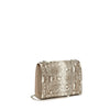 DEVON CROSSBODY PEWTER SNAKE