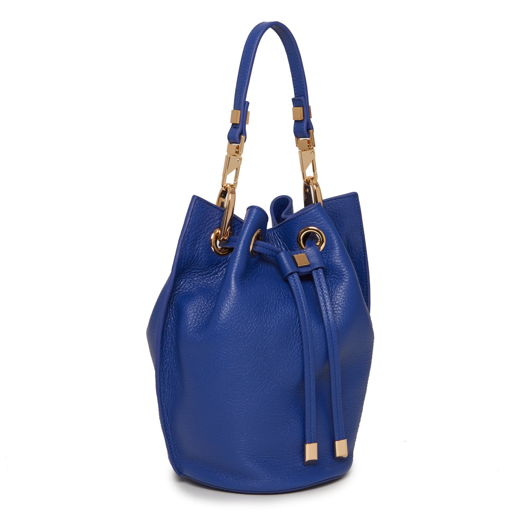 Carla Mini Bucket in Royal Blue