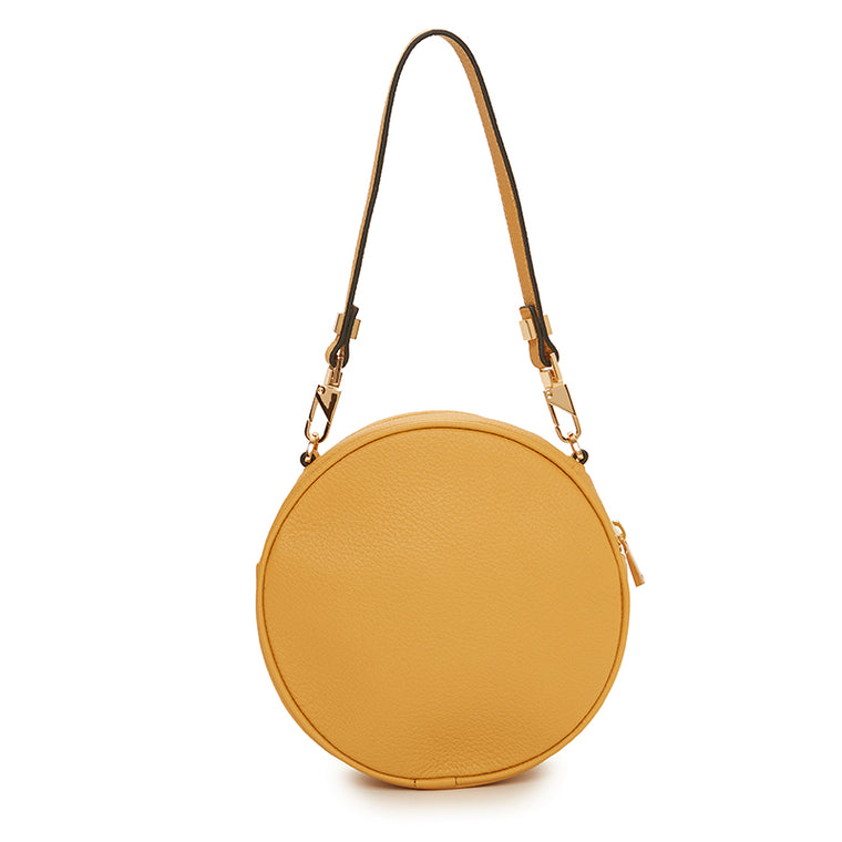 Carla Round Bag Dark Honey