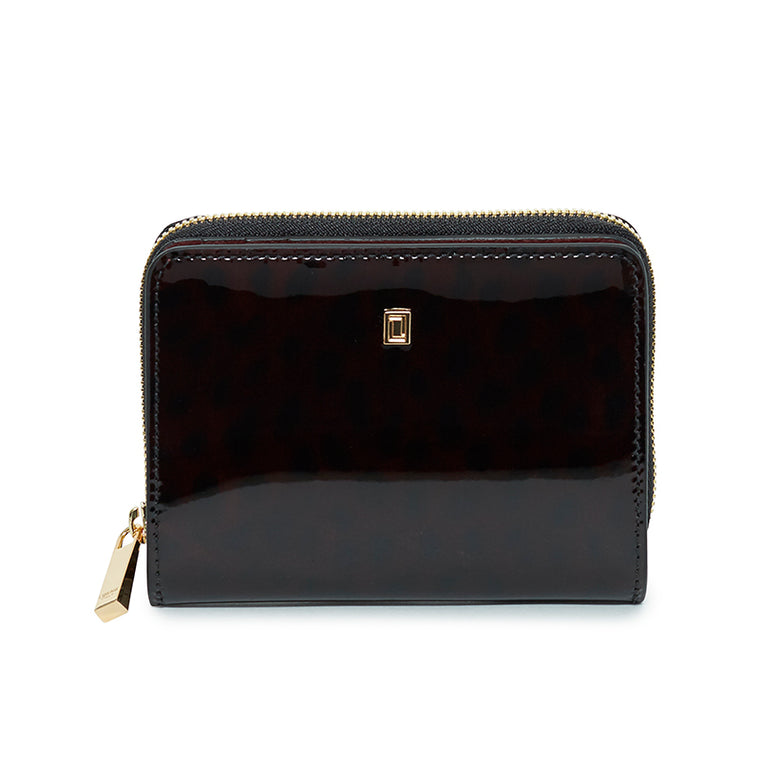 Carla Small Wallet Burgandy