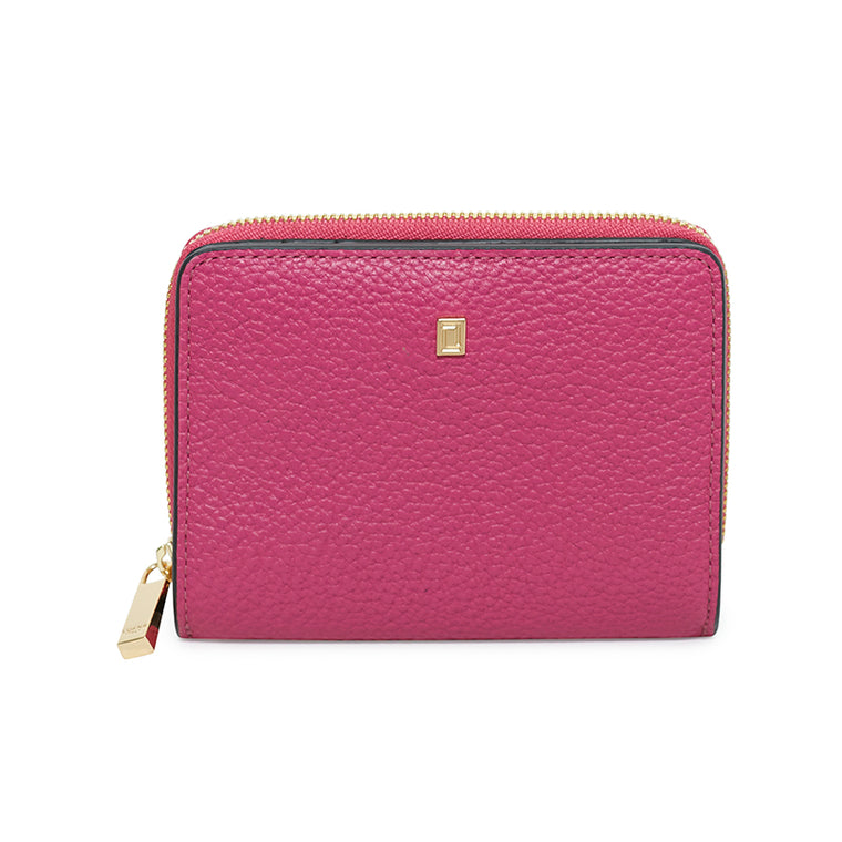 Carla Small Wallet Fuchsia
