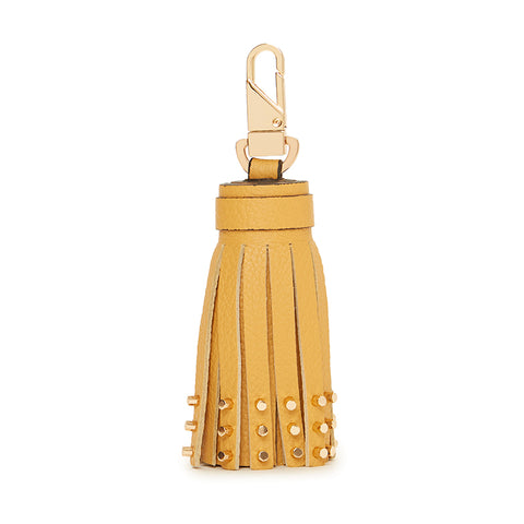 Dita Studded Tassel Dark Honey