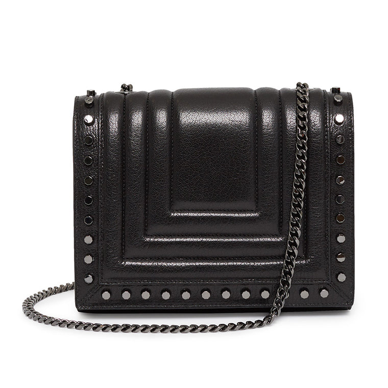 Devon Crossbody in Ebony