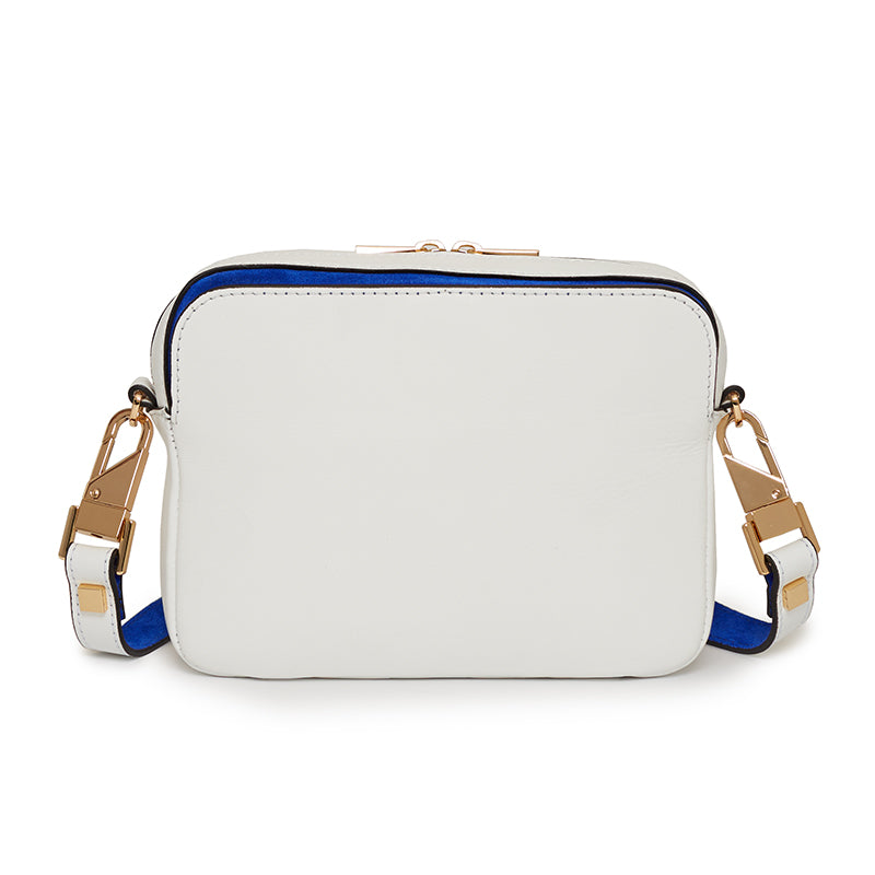 Double L Camera Bag in Bianco