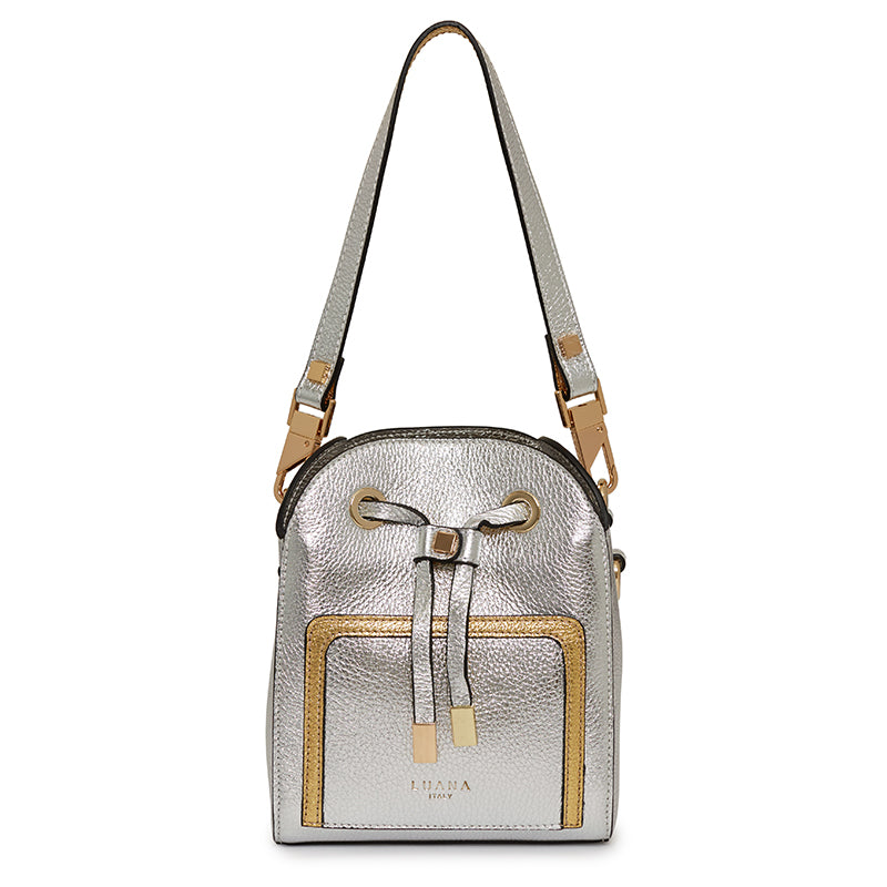 Margherita Mini Bucket in Silver
