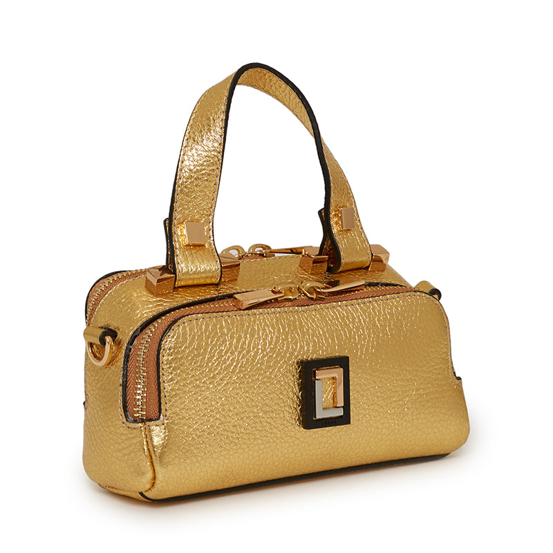 Tiziana Mini Crossbody in Gold