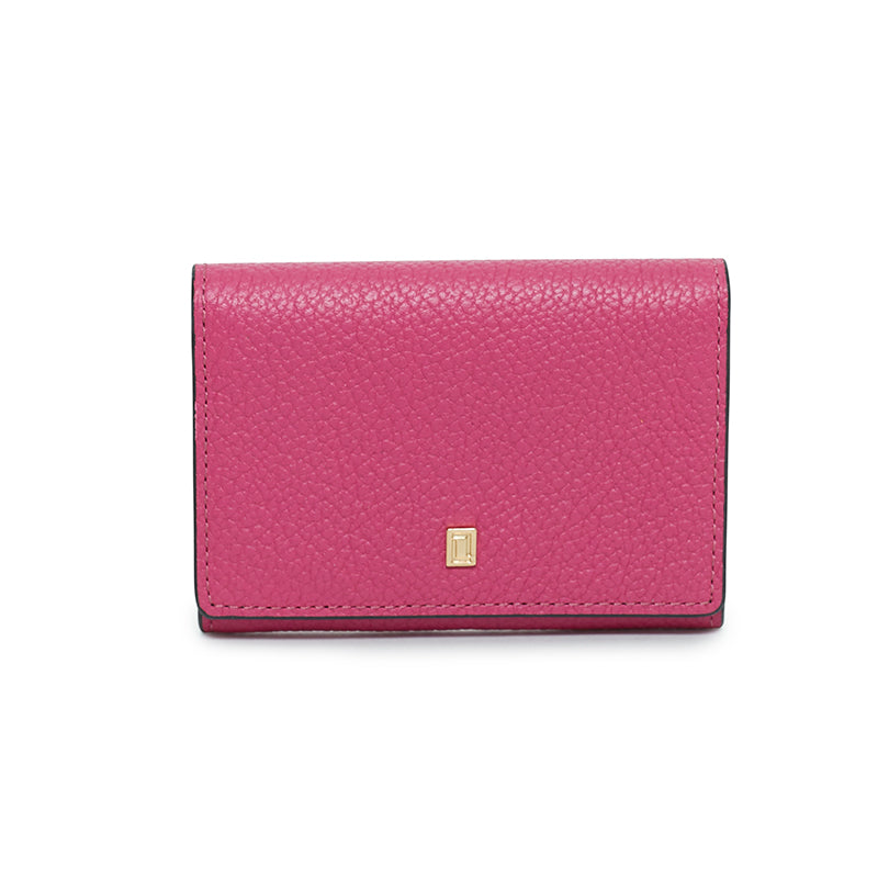 Lulu Credit Card Case Fuchsia