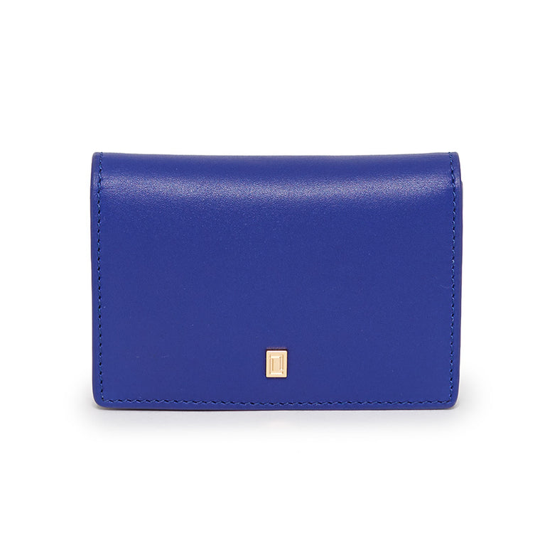 Lulu Credit Card Case Clematis Blue/Ebony