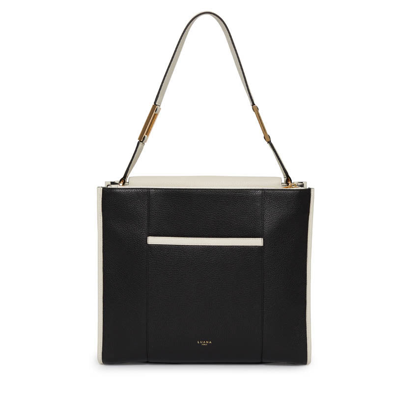 Margherita Tote in Ebony/Birch