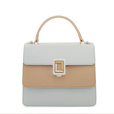 Maria Satchel Cloud Blue/Smoke