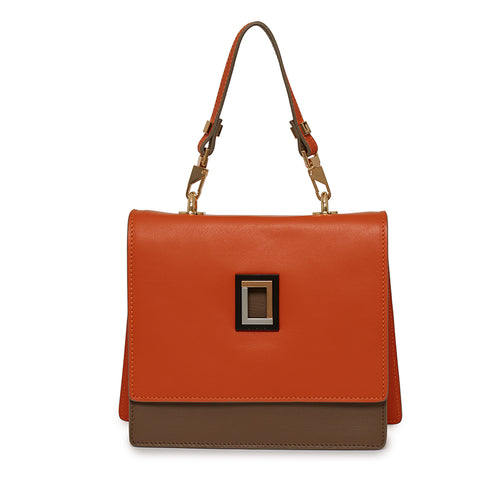 Marianna Satchel in Orange