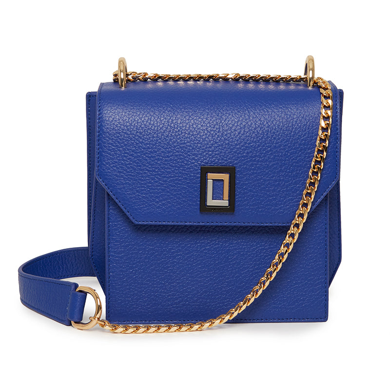 Origami Shoulder Bag in Royal Blue