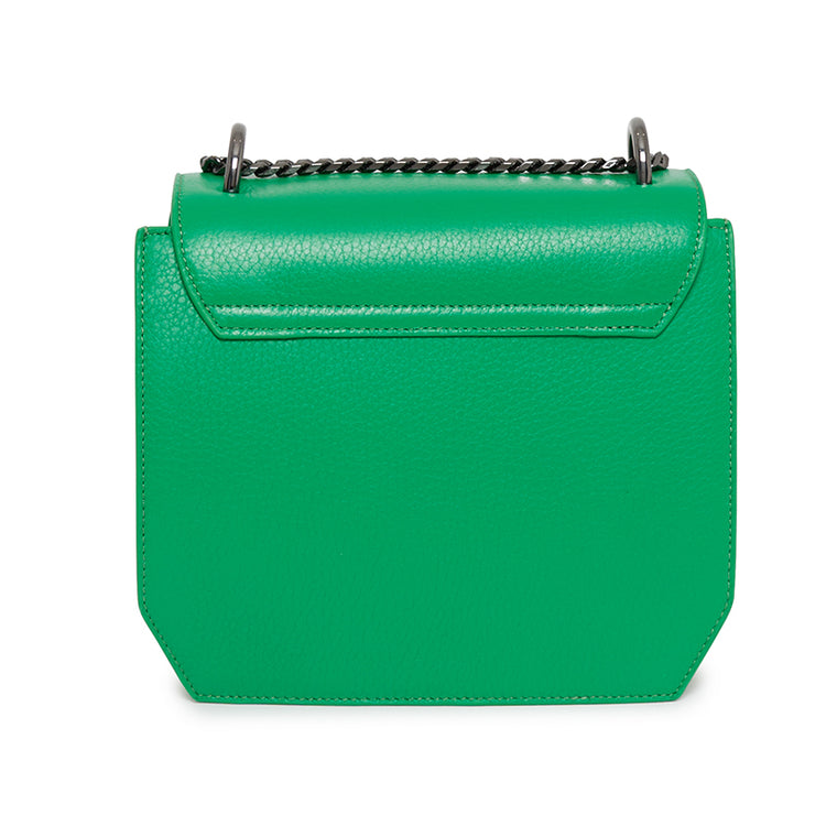 Origami Shoulder Bag in Emerald
