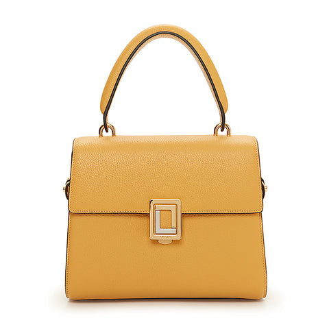 Paley Mini Satchel Dark Honey