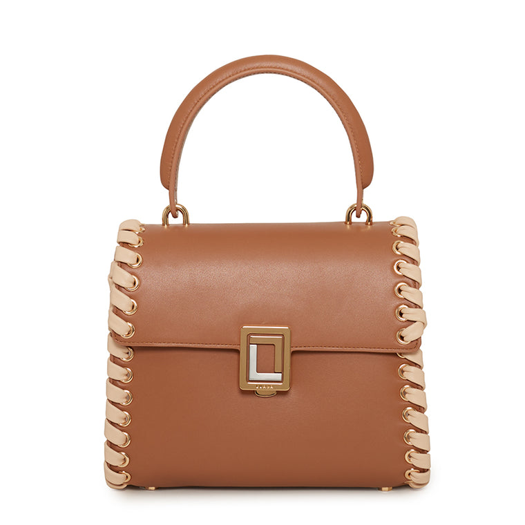 Paley Mini Satchel-Lacing Mocha/Blush