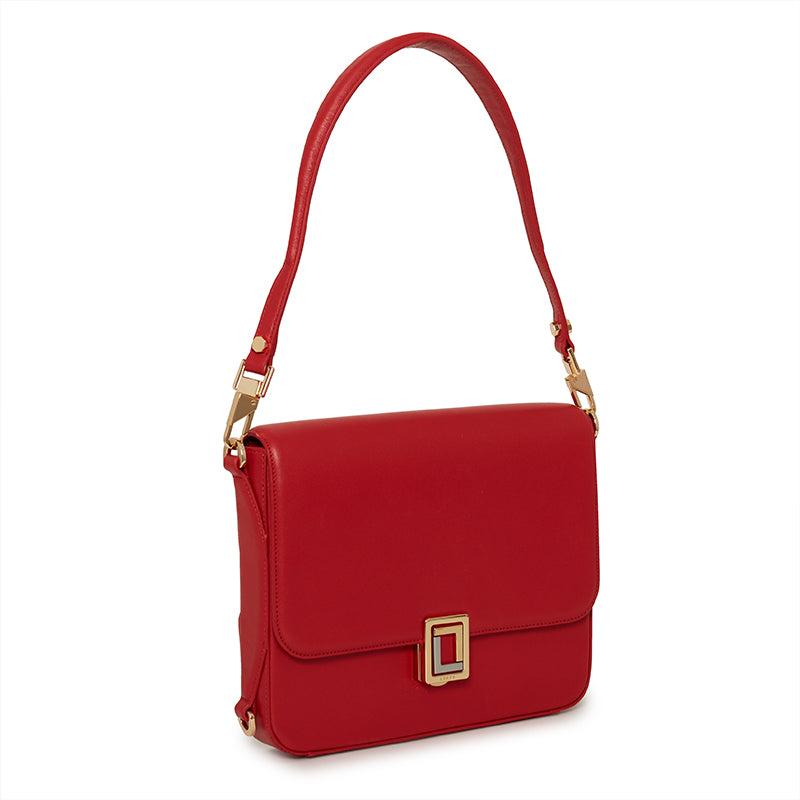 Paley Shoulder Bag Scarlet