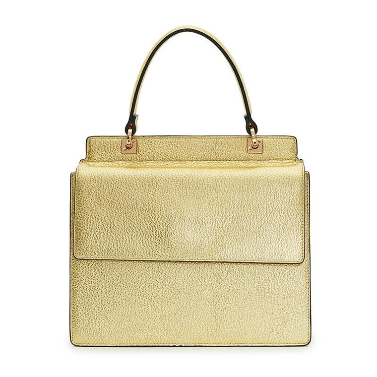 Rita Mini Satchel in Gold