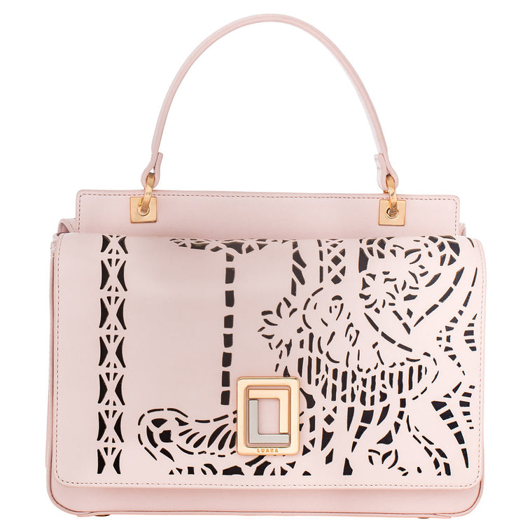 Sofia Mini Satchel Rose Smoke