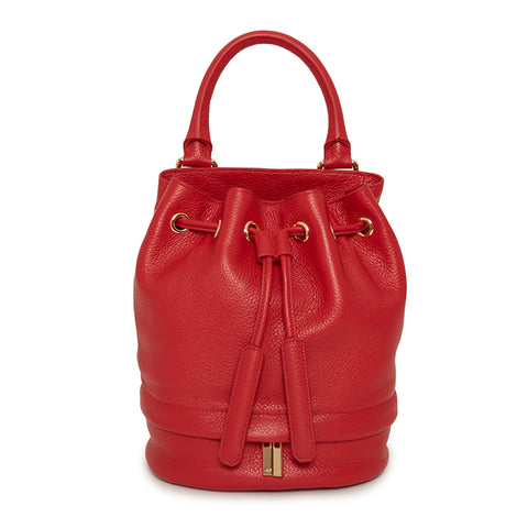 Theo Mini Bucket Scarlet